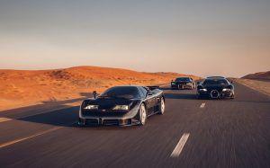 Bugatti EB110, Veyron i Chiron na jednom mjestu, pravi melem za oči