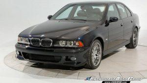 BMW M5 E39 s 5 tisuća kilometara prodan na aukciji za pozamašnih 200 tisuća dolara!