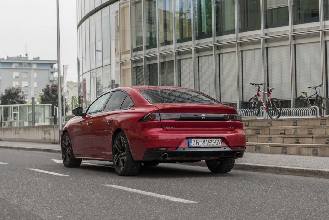 Peugeot 508 PureTech 225 S&S EAT8 GT line - poslovnjak u svome svijetu