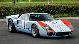 Replika Forda GT40 iz filma Izazivač Le Mans '66 ide na aukciju