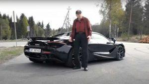 Kupovina McLarena 720S u poznim godinama, ovaj se norveški entuzijast itekako počastio