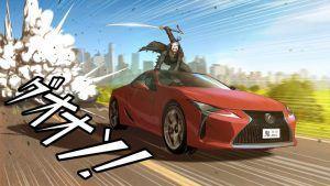 Lexus modeli pronašli su svoje mjesto u zanimljivoj umjetničkoj formi pod nazivom 'Manga'
