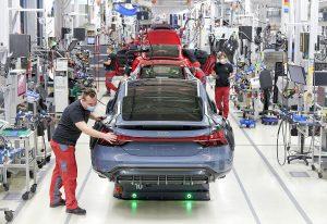 Audi e-tron GT ubrzo stiže, proizvodnja već u punom pogonu