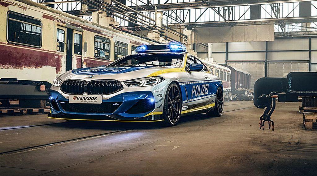 BMW M850i u policijskom izdanju po receptu poznatog AC Schnitzera
