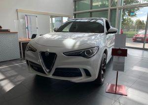 Alfa Romeo Stelvio QV čeka sretnog kupca na zagrebačkom Jankomiru