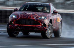 Aston Martin DBX - luksuzni SUV u najavi, unutrašnjost odiše luksuzom