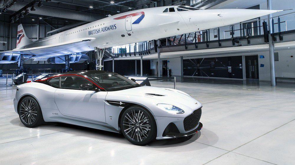 Aston Martin DBS u novoj, specijalnoj ediciji posvećenoj avionu Concorde