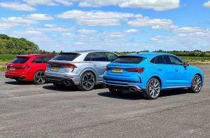 Audi RS Q8 ili Audi RS 4 ili Audi RS Q3, traži se najbrži dok RS 6 i RS 7 odmaraju!