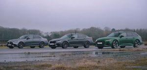 BMW M5, Audi RS6 ili Mercedes-AMG E 63 S, a prvi ciljem prolazi?