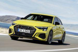 Novi Audi S3 u raketnom kompaktnom i sedan izdanju napada A 35 i M235i