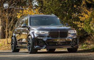 BMW X7 u rukama Lumma designa postao CLR X7, divovski SUV vozi se na 24 colnim kotačima