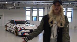 Ova žena zna posao, BMW 3.0 CSL Hommage R je najava onoga što Bavarci pripremaju!