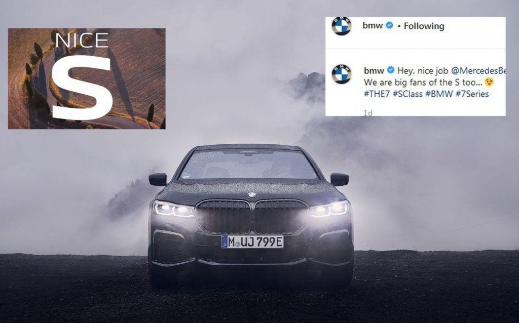 Gospodski potez, BMW pozdravio dolazak nove Mercedes-Benz S-klase