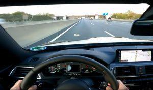 BMW M4 na Autobahnu potegnuo 280 km/h, tragedija izbjegnuta zbog reakcije vozača i odličnih kočnica