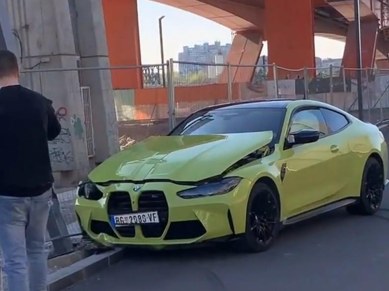 Testni BMW M4 u Srbiji završio svoju karijeru