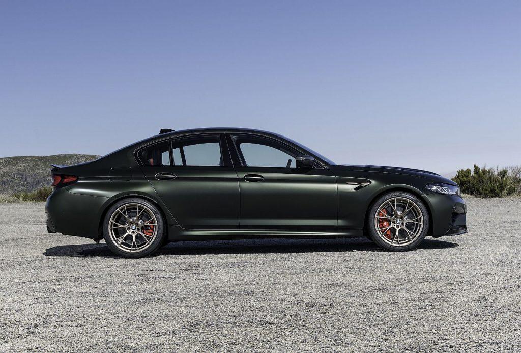 BMW M5 CS, bodybuilder u svijetu automobila