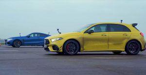 Mercedes-AMG A 45S ili BMW M8 Competition, nikad ne otpisujte manjega, slabijega!