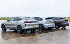 BMW X6M, Audi RS Q8 ili Porsche Cayenne Turbo S, SUV ljepotani pršte od snage, a najbrži je?