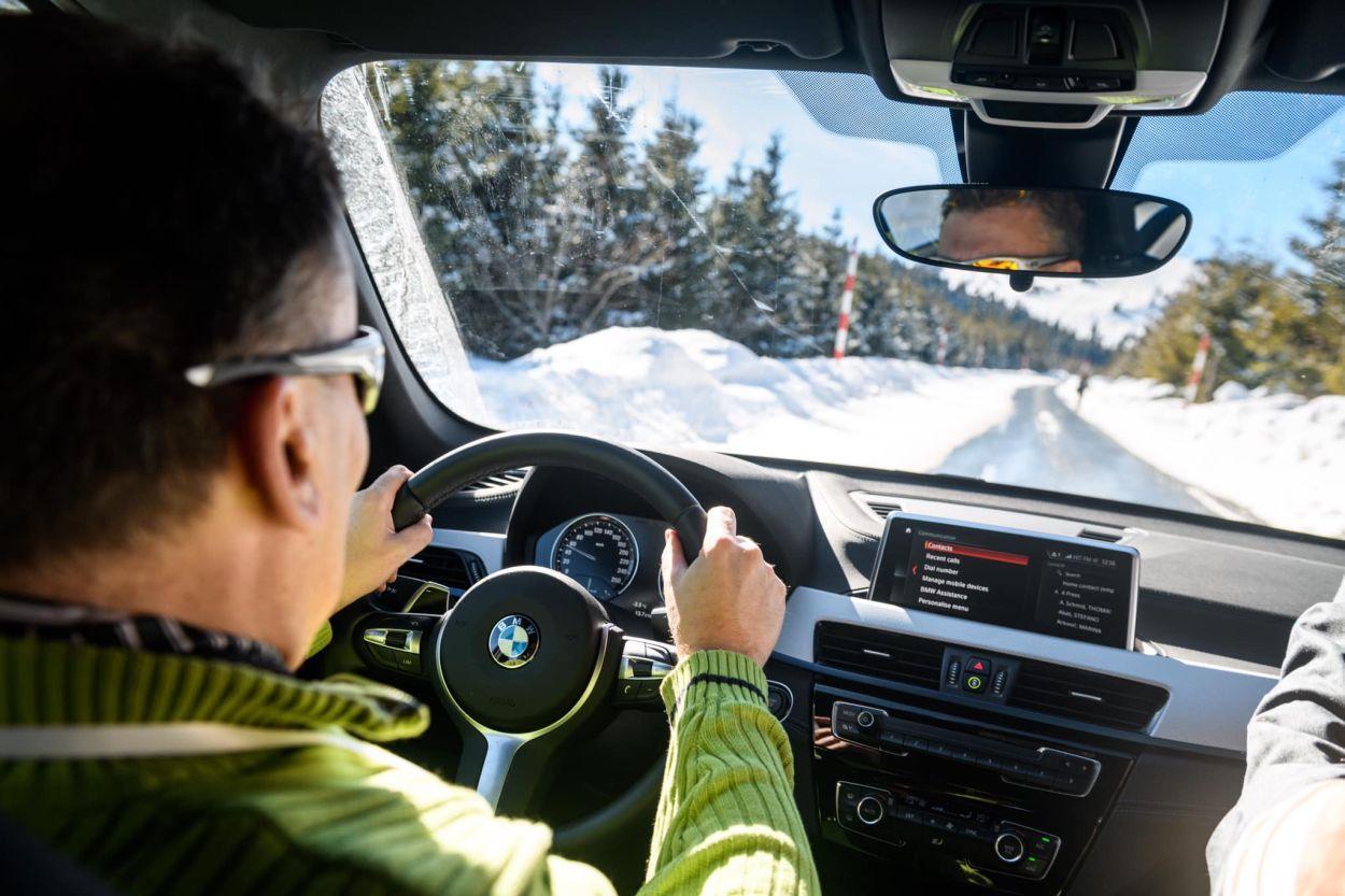 Za primjer našem zastupniku, BMW u Srbiji napravio odličnu prezentaciju na snijegu