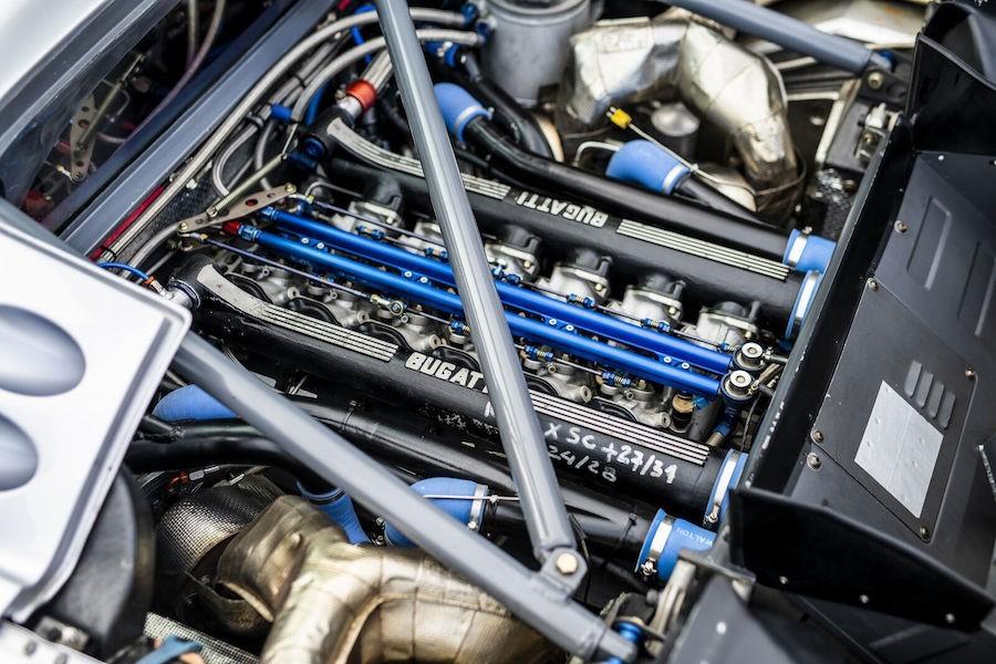 Bugatti EB 110 Sport Competizione, ponovno na stazi nakon 25 godina