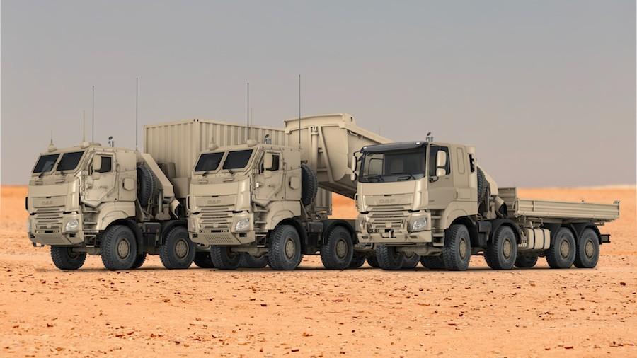 Vojska u Belgiji naručila čak 879 kamiona marke DAF