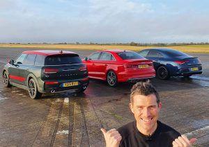 Audi S3 vs Mercedes-AMG CLA 35 vs MINI Clubman JCW, pobjednik se već unaprijed zna?