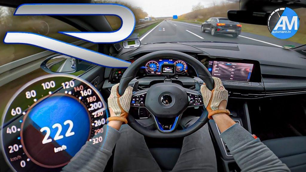 Volkswagen Golf R u prvom pohodu na autocesti, 320 KS i 4Motion pogon oduševit će svakoga
