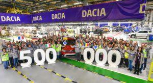 Dacia Duster proslavila proizvedeni 500.000 primjerak