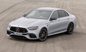 Osvježeni Mercedes-AMG E 63 i službeno predstavljen, najveća novost je Panamericana grill i nove palete boja