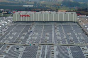 Toyota je prošle godine koristila 100% obnovljivu električnu energiju za proizvodnju!