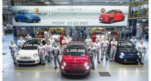 Fiat 500 u poljskom Tychyju slavi proizvodnju 2,5 milijuntog primjerka