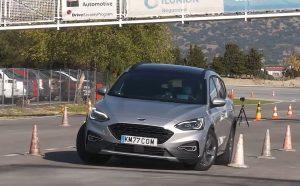 Ford Focus Active X Sportbreak dokazao svoj potencijal u izbjegavanju losa