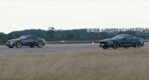 Ford Mustang vs Lexus LC500, dvoboj V8 strojeva, tko je kome uzeo mjeru?