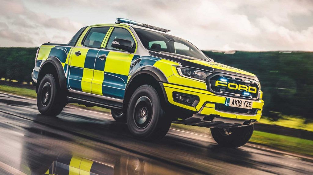 Ford Focus ST i Ranger Raptor stižu u pomoć britanskoj policiji