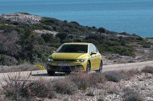 Novi Volkswagen Golf 8 u prekrasnoj vožnji Hrvatskom