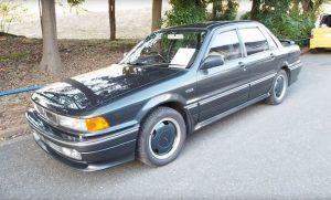 Mitsubishi Galant AMG, ali ne, nismo fulali naziv modela, ova suradnja stvarno je postojala