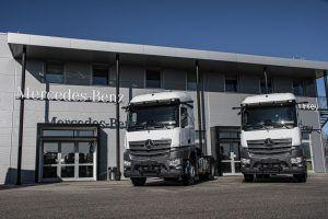 Mercedes-Benz Actros s dva primjerka pojačao tvrtku Holcim