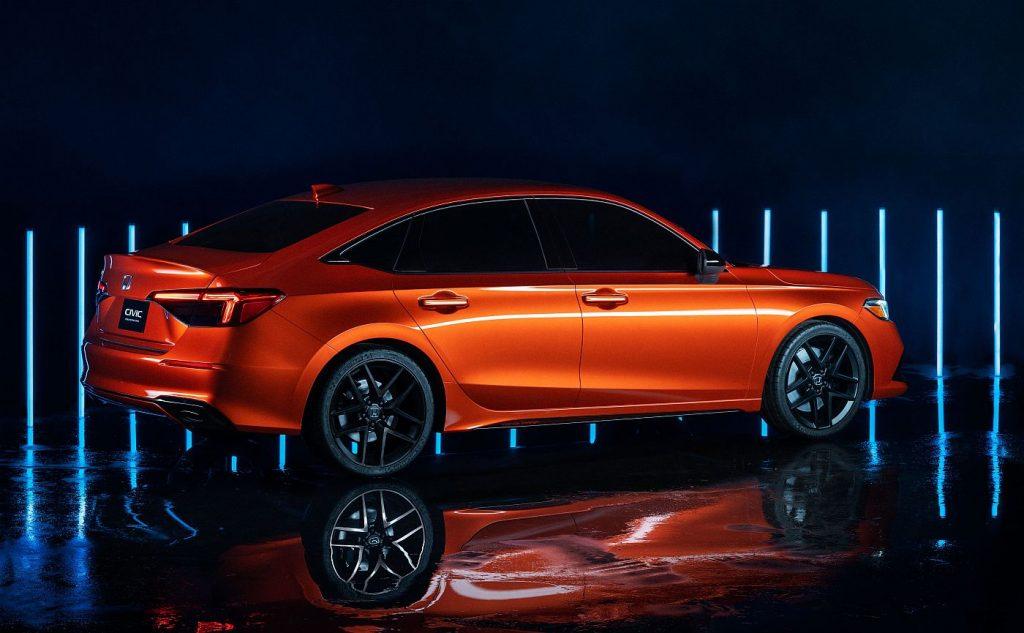 Honda Civic (2022.), prototip koji otkriva crte lica nove generacije
