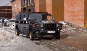Hummer H2 na 13 colnim kotačima, ovo mogu samo Rusi