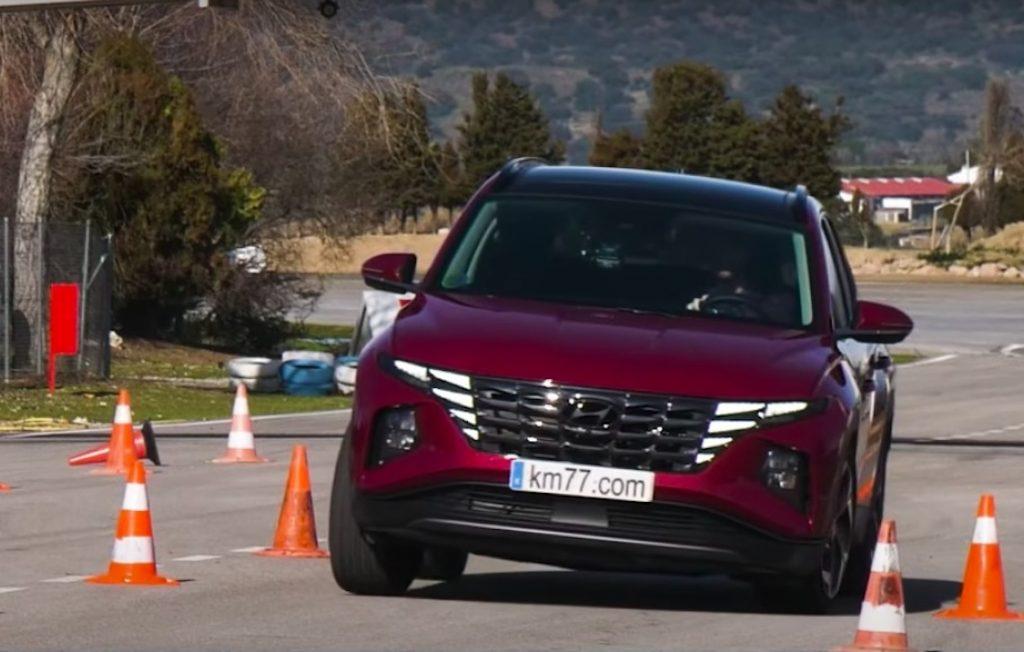 Hyundai Tucson na testu izbjegavanja sjevernog jelena, pogledajte kako je prošao