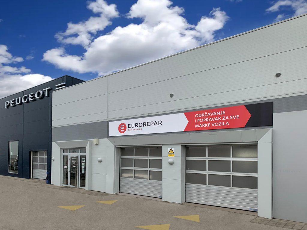 Eurorepar otvorio svoju prvu radionicu u sklopu prodajnog centra Peugeot Automobil Lončar
