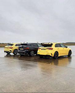Audi S3 vs Mercedes-AMG A35 vs BMW M135i - tražimo novog hot-hatch kralja