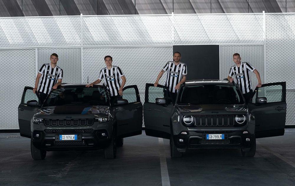 Juventus i dalje uz Jeep i 4xe oznake, novi dresovi već donijeli uspjeh