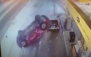 U Karlovcu pukom srećom izbjegnuta velika tragedija na benzinskoj postaji