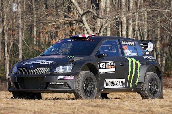 Ken Block ima novi auto, Škoda Fabia R5 za nove vratolomije