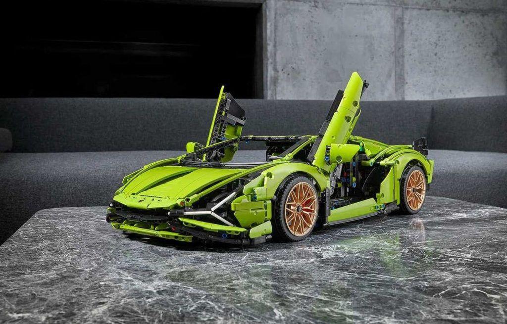 Lamborghini Sian od sada kao LEGO zanimacija