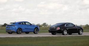 Lamborghini Urus Hennessey vs Rolls Royce Wraith, dva gorostasa u utrci ubrzanja