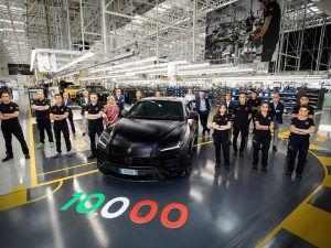 Lamborghini Urus tražena roba, već dosegao brojku od 10.000 primjeraka
