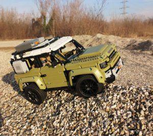 Složili smo Land Rover Defender LEGO Technic, opravdani razlog za otkrivanje djetinjaste strane