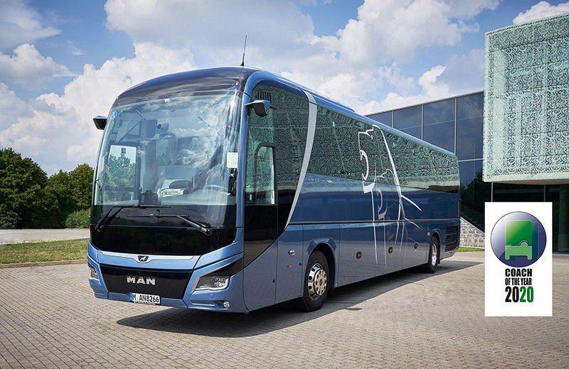 MAN Lion's Coach - autobus godine 2020. oduševio novinarski žiri